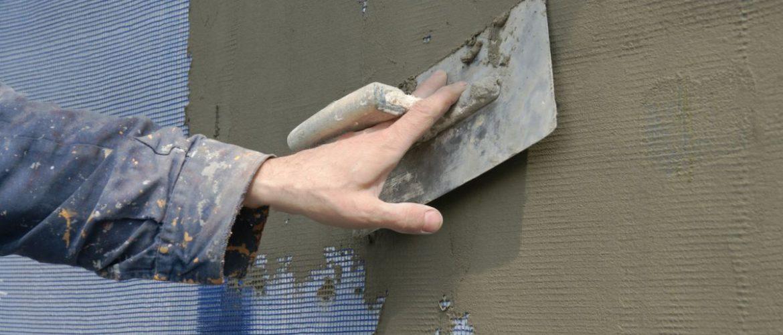 Оштукатуривание по металлической сетке